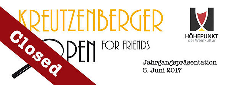 Kreutzenberger OPEN for Friends 2017