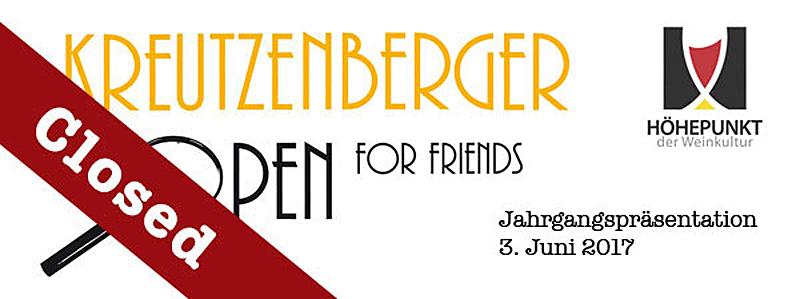 Kreutzenberger OPEN for Friends 2017